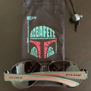 Star Wars Boba Fett Aviators Sunglasses UVA-UVB